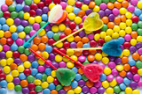 Lollipops with candies