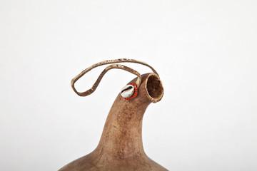 Kalebasse Gefäßhals