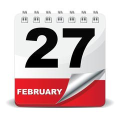 27 FEBRUARY ICON