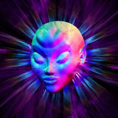 Psychedelic Alien Meditation
