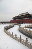 The Forbidden City in winter,Beijing