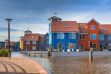 Colorful Modern Waterfront Houses