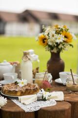 summer tea table