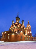 Epiphany temple in Yaroslavl, Russia