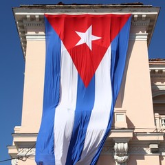 Cuban flag in Matanzas