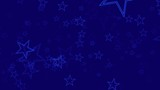 blue stars particle backgrounds