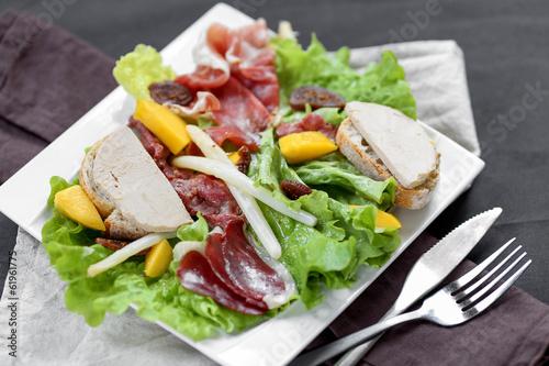 salade landaise revisitée 4