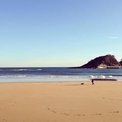 Tranquilidad en la playa