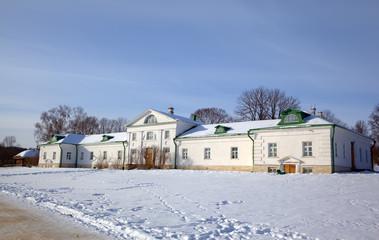 House of Volkonskiy in Yasnaya Polyana. Tula, Russia