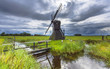 Historic Dutch Windmill