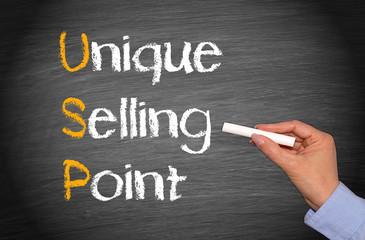 USP - Unique Selling Point - Marketing Concept