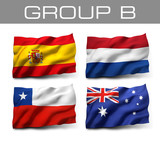 Brazil 2014 teams - Group B