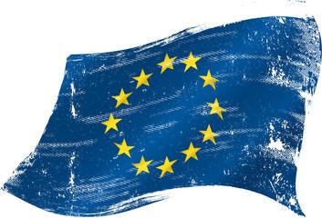 european grunge flag