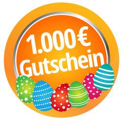 1000 Euro Gutschein