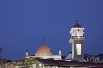 Abdul Razak Mosque at Blue Hour