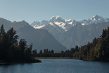 Lake Matheson in Westland National Park