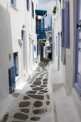 Backstreets of Mykonos,Greece