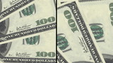 Money animated background split two ways looping