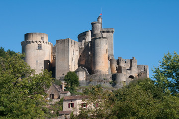 Castle of Bonaguil, Aquitaine (France)