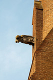 Gargoyle in the church of Les Jacobins, Toulouse (France)