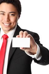 Take my card!