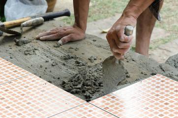 Mechanic Floor tiles