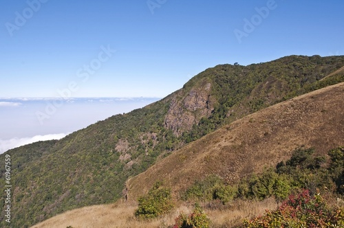 Viewpoint at Doi Inthanon, Chiangmai, Thailand