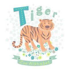 Letter T - Tiger
