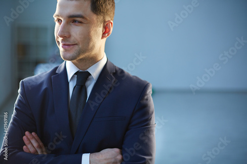 Smiley businessman