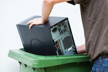 Throwaway old computer