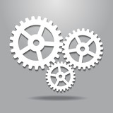 Cogwheel gear mechanism