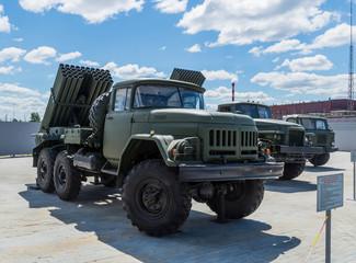 установка град экспонат военного музея