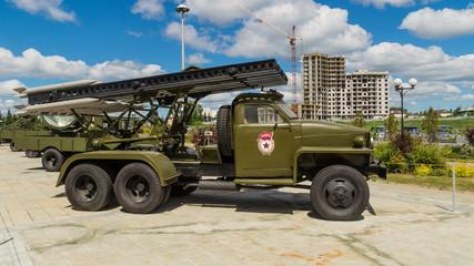 установка катюша экспонат военного музея