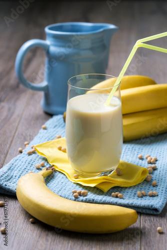 Soja-Drink mit Bananengeschmack - 61971769
