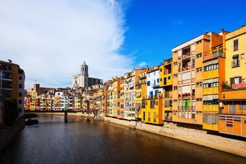 Day view of Girona