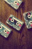 retro music cassettes