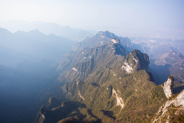 Tienmensan mountains