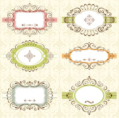 Ornate Frame Set