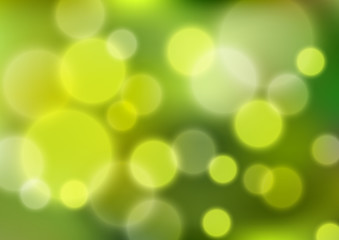 Green bokeh background for Your design