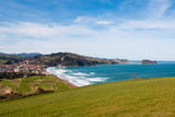 View of Zarautz and Getaria.