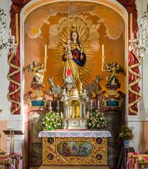 Frauenbergkapelle Eichstätt Kirchenraum Maria