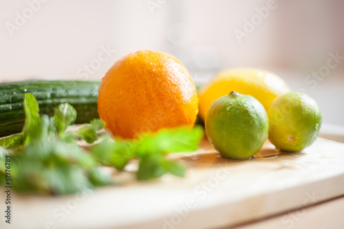 canvas print picture fresh vegetables