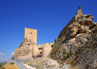 Ancient Castle Sax in Alicante Spain