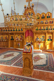 Orthodox church altar