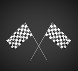 Two Checker Flag