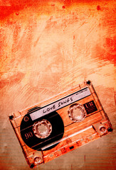 love songs orange grunge