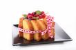cake charlotte isolated