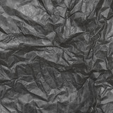 Crumpled  paper background texture. Vintage craft paper texture