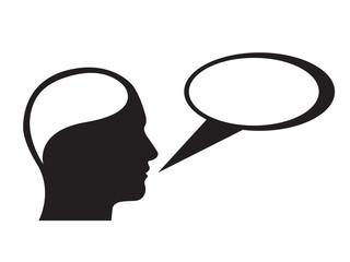 thinking speaking
