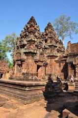 Banteay Srey Temple, Angkor in Cambodia